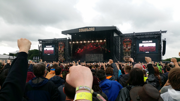 Download Festival 2016 Breaking Benjamin