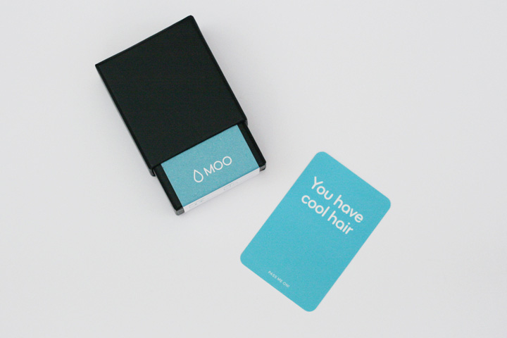 Moo.com Business Cards Packaging